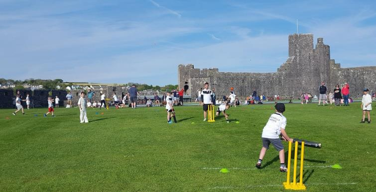 ?Scores of young cricketers are set to battle it out in the early season U9 festival at Pembroke Castle on Wednesday, May 8