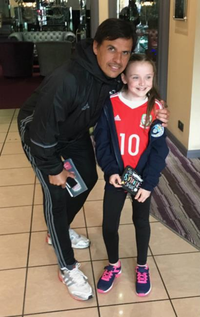 Meeting Chris Coleman