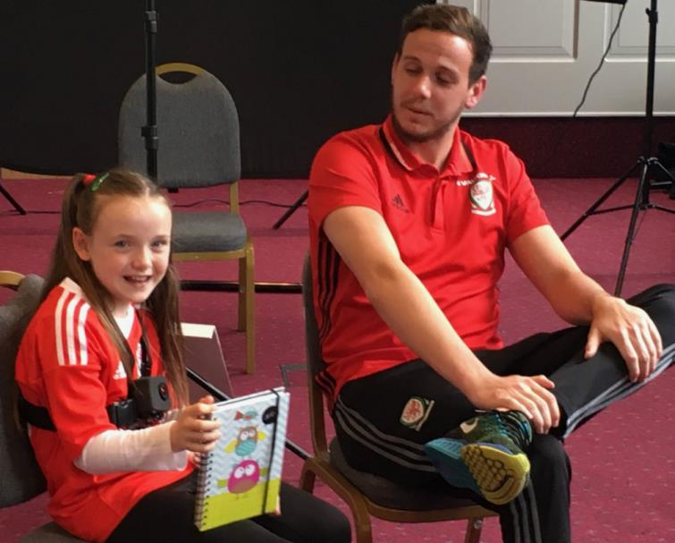 Interviewing Danny Ward