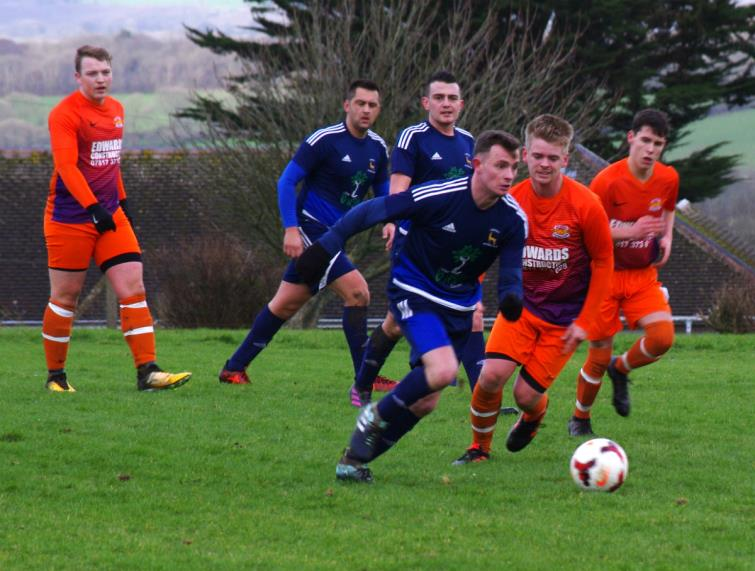 Action from the Pavilion Ground where West Dragons lost against Lamphey