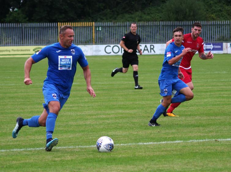 Lee Trundle featured with three assists
