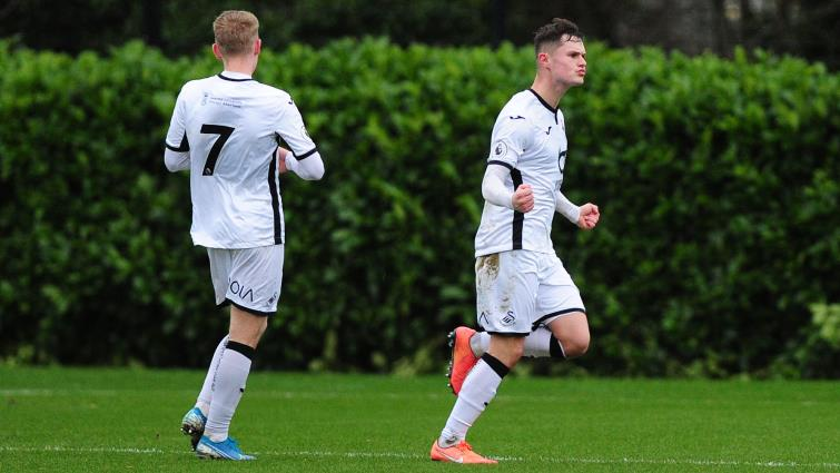 Liam Cullen scored twice for young Swans