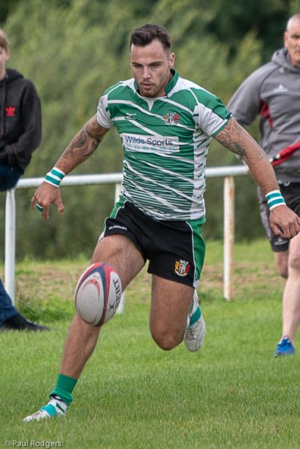 Liam Price - try for Whitland in narrow defeat