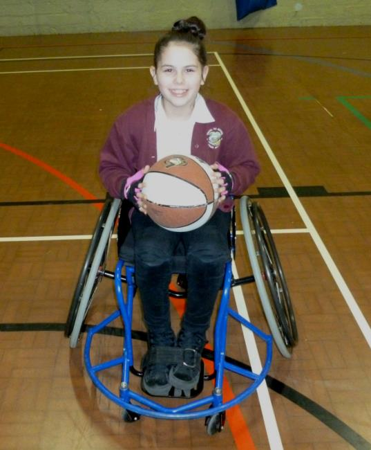 Libi Phillips plays Wheelchair Rugby for The Ospreys