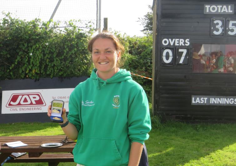 Llawella Scale starred for Burton Ladies