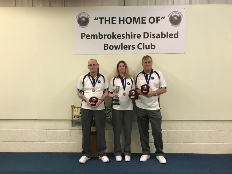 Pembrokeshire B, Steve Whitmore, Madeline Roberts and Richard Parker