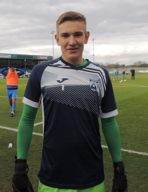 Goalkeeper Matthew Turner had a mixed afternoon