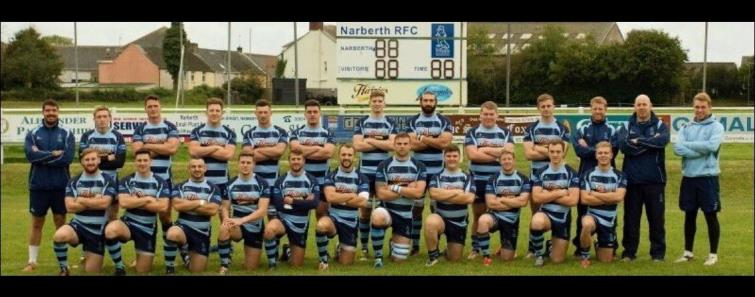 Narberth RFC team