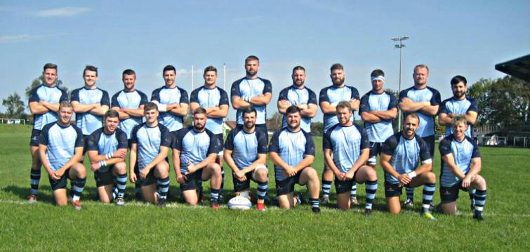Narberth RFC pre-match - pic Ken Mathias