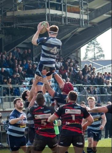 Narberth win lineout ball