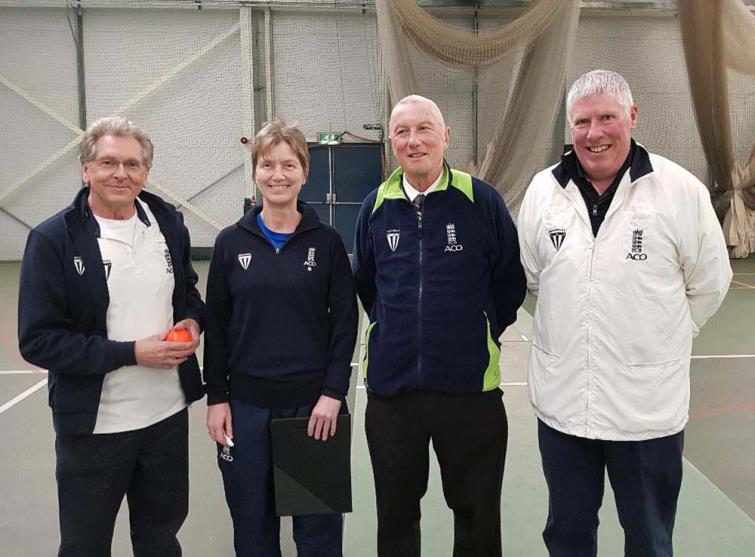 Match Officials: Peter Hoare, Inge Bevens, Allan Hansen and Dave Faulkner