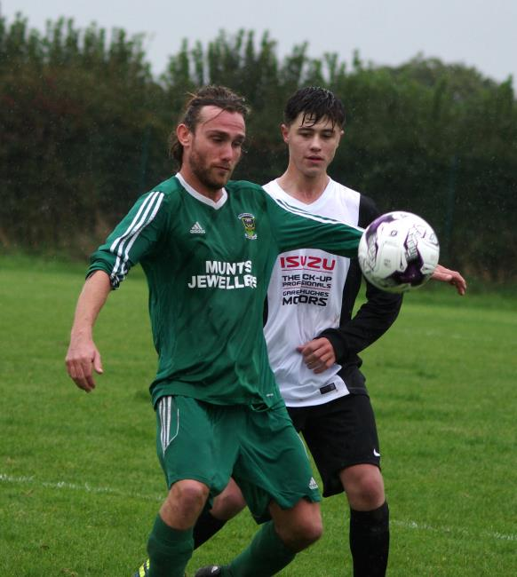 Division One outfit Neyland were beaten 2-4 at home against Division Two Solva