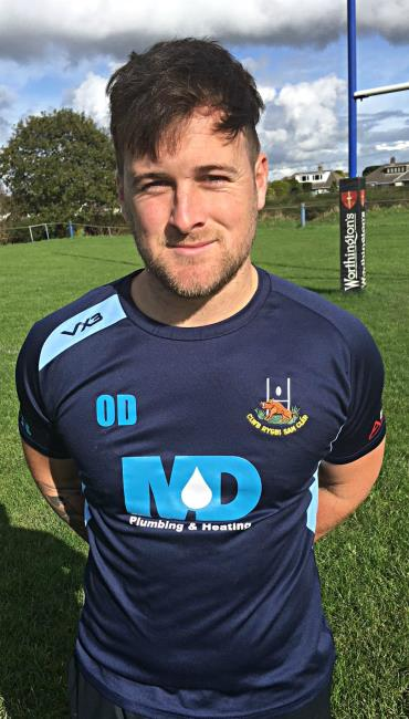 Owain Davies - vital try for St Clears