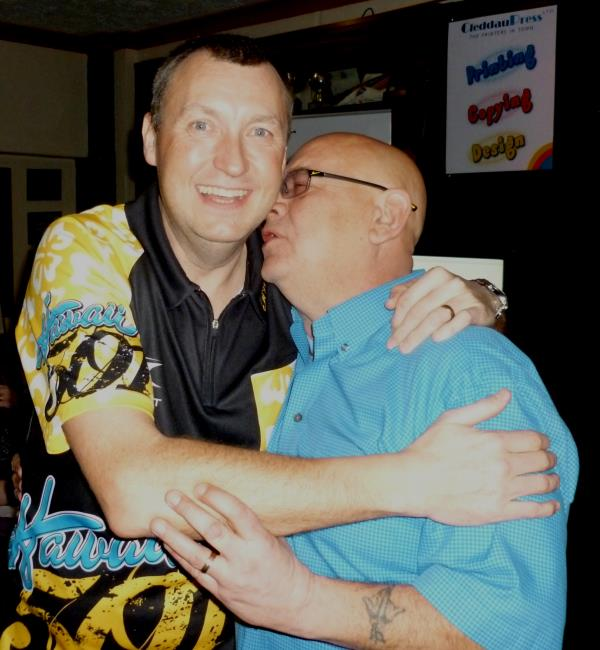 A hug from a great fan