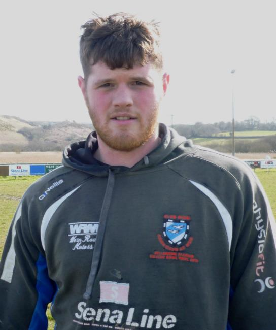 Jac Evans - try in vain for Fishguard