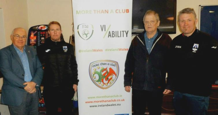 Svend with Barry Vaughan, Steve Batty and Wyndham Williams