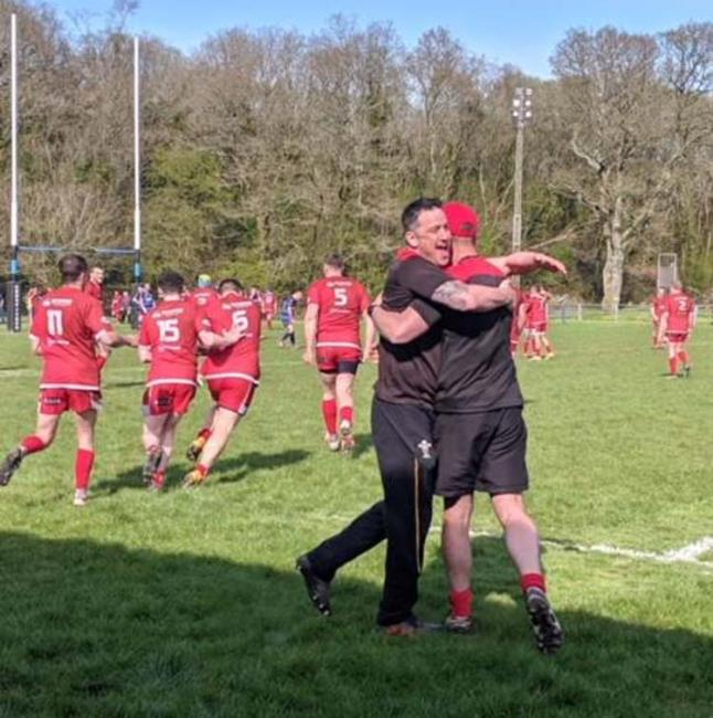 Pembroke celebrate second promotion in a row