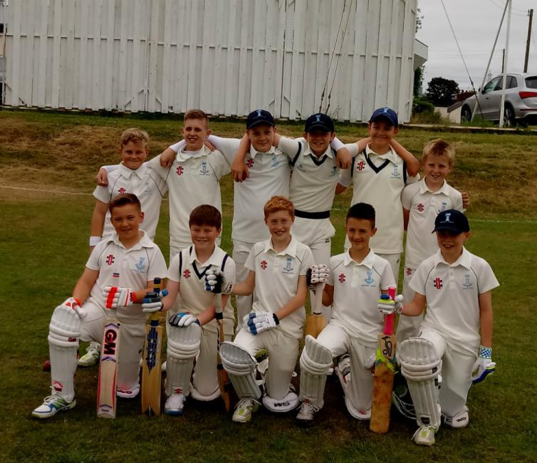 The county U12s team in North Wales