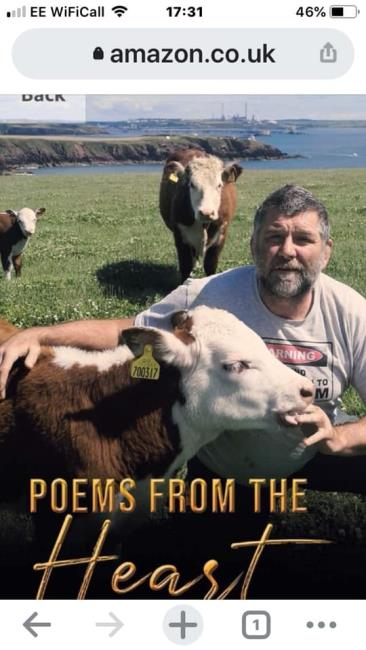 Former rugby player turned poet Philip Stoddart