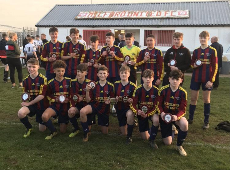 Winners Prendergast Villa Under 14s