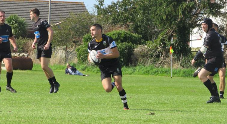 Jordan Asparassa - try brace for Quins centre