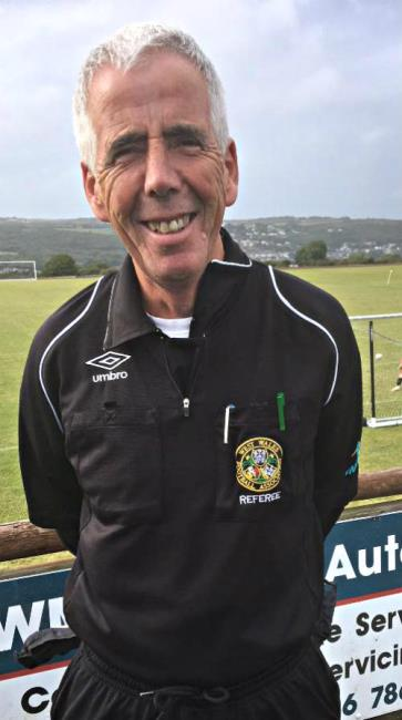 Referee Sean O Connor