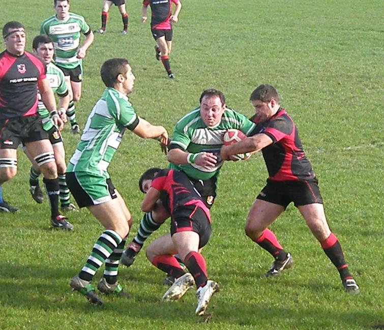 Romeo Colella on the charge for  Whitland