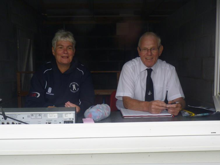 Scorers - Jayne Cole and John Laugharne