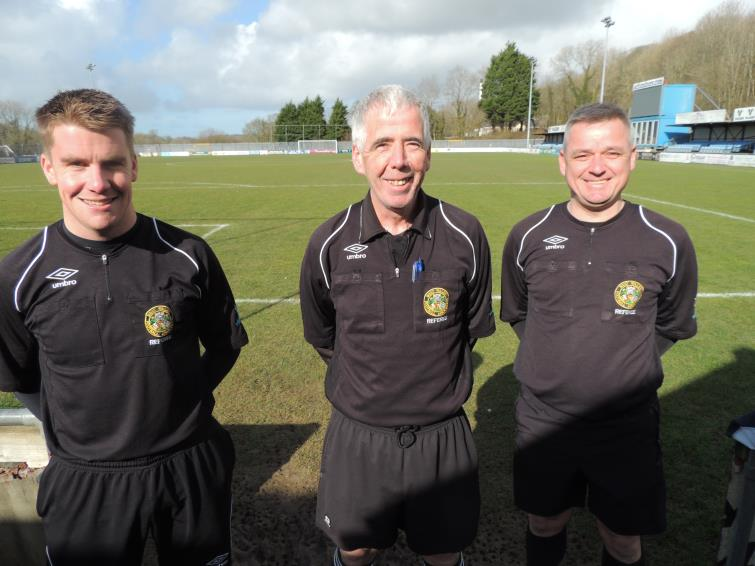 Sean O Connor, Sion Jenkins and  Neill Crawshay
