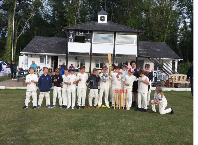 U11s Llechryd with Saundersfoot