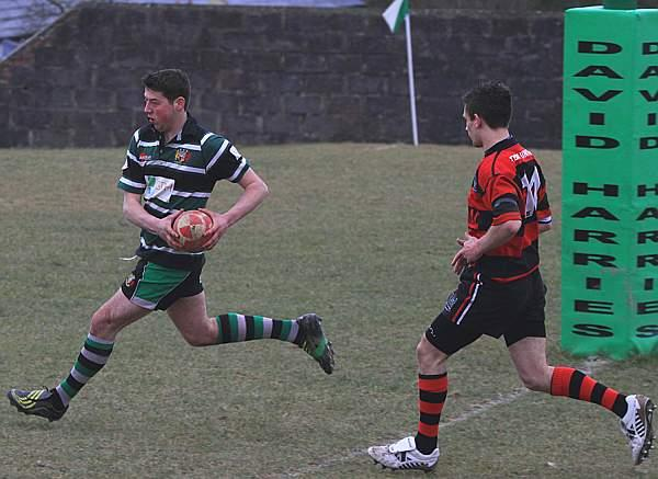 Shane Morgan - another try for St Clears