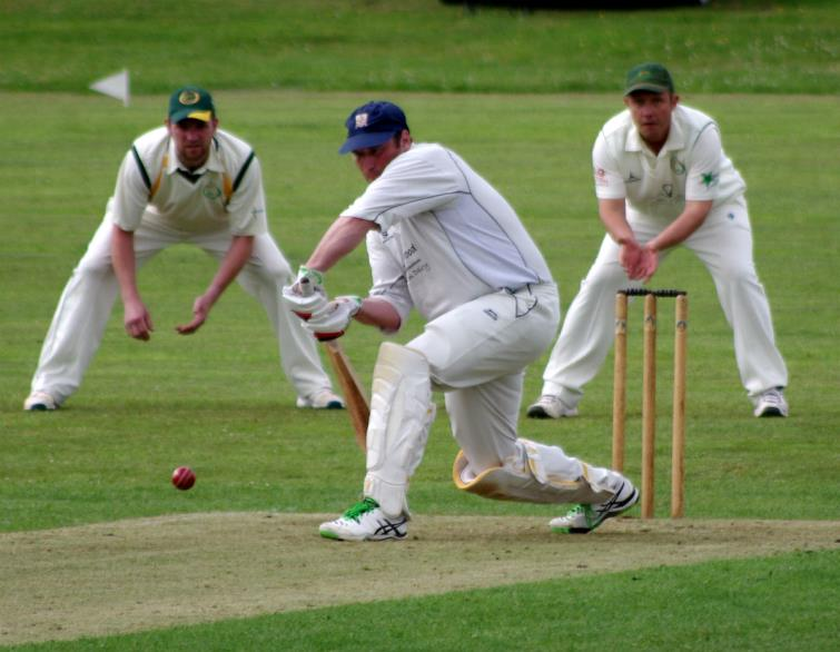 Simon Holliday stroked another fine century for Haverfordwest