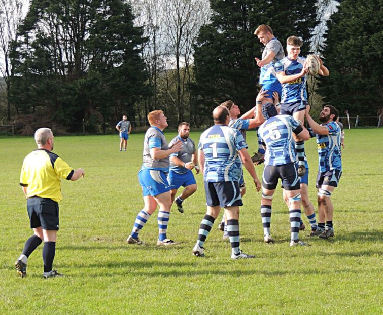 St Clears win good lineout ball