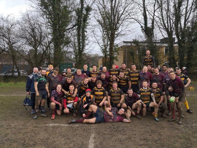 Muddy marvels Cardiff Harlequins and St Davids after the match