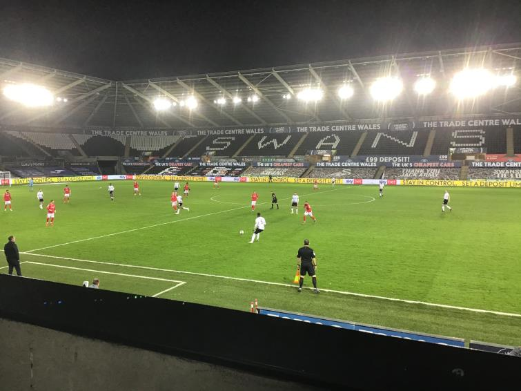 Another good win for Swansea City at the Liberty Stadium against Nottingham Forest