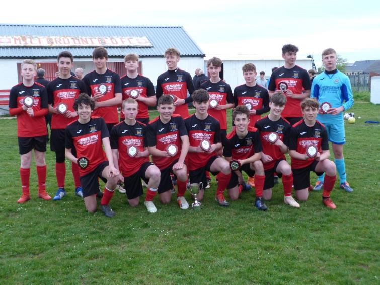 Winners Tenby Under 15s