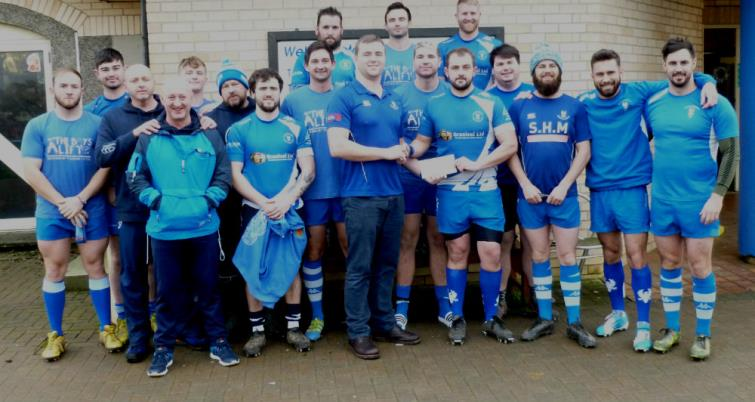 The victorious Haverfordwest team