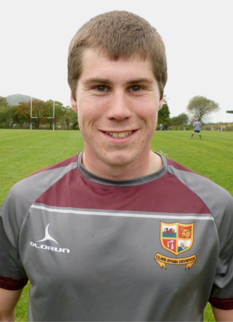 Tomos Lewis - try hat-trick for Crymych