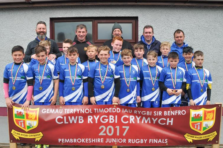 U10s winners - Haverfordwest