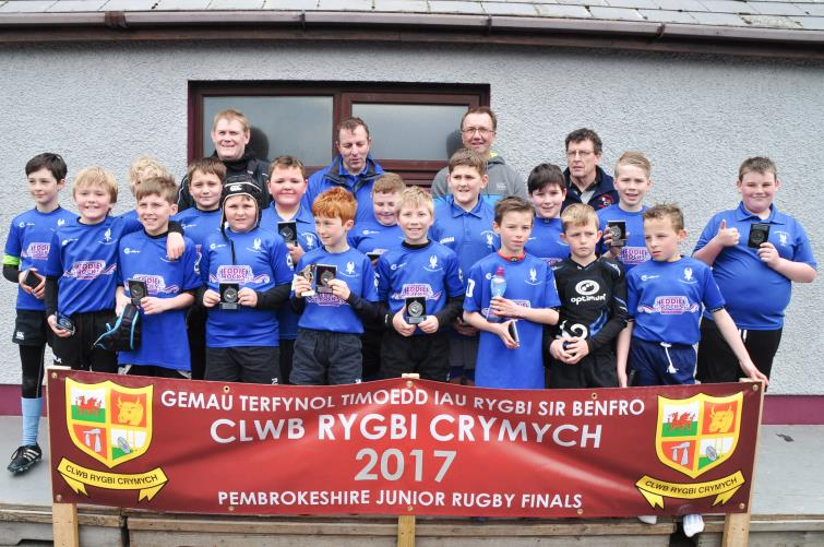 U11s runners-up - Haverfordwest