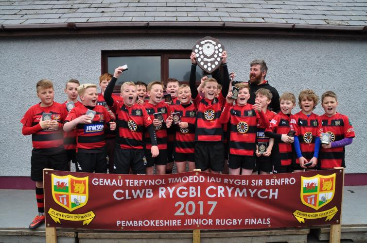 U11s winners - Tenby Swifts