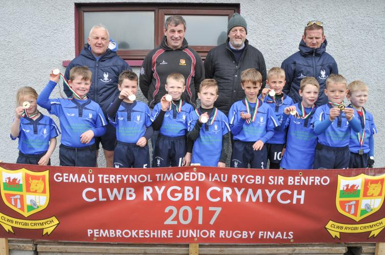 U7s winners - Haverfordwest
