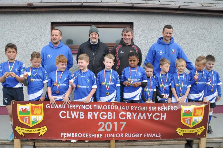 U8s - Joint winners - Haverfordwest