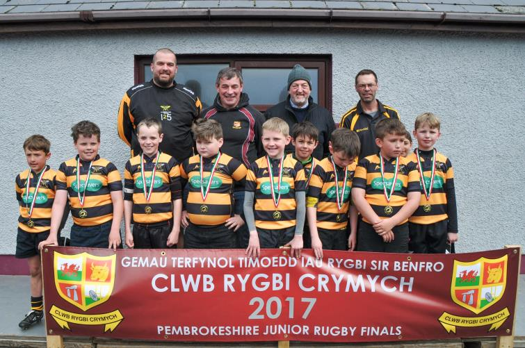 U9 runners-up - Llangwm
