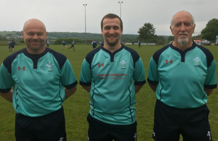 Under 17s Cup - match officials
