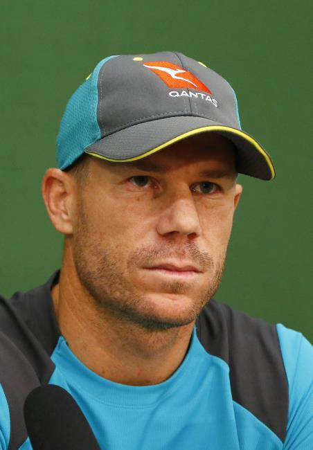 Australian vice-captain David Warner