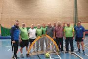 Walking Footballers line up