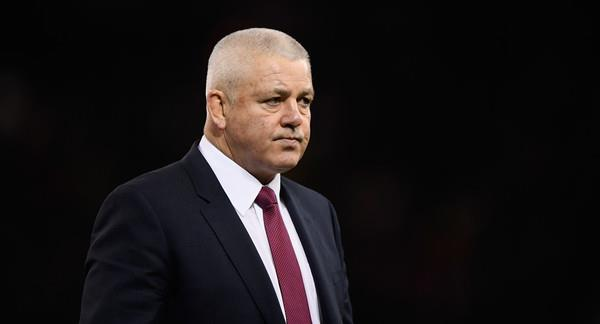 Warren Gatland before game against New Zealand