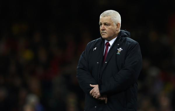 Warren Gatland before game against South Africa