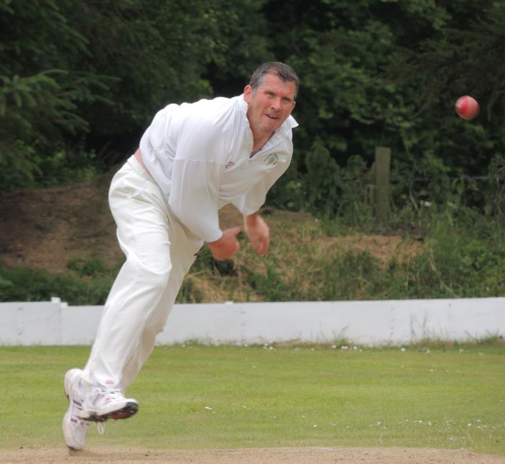 Wayne Howells scored runs and took wickets for Whitland